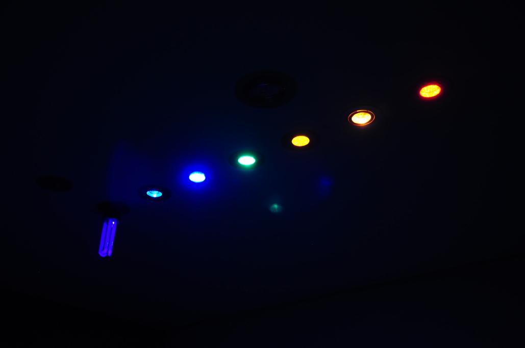 Luzes da Cromoterapia